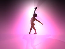 Ballet - Background - 3D Royalty Free Stock Image
