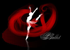 Ballet background Royalty Free Stock Image