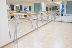 Ballet barre Stock Photography