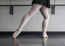 Ballet Barre Work stock afbeelding