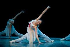 Ballet basic training Stock Photography