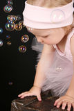 Ballet bubbles Stock Image