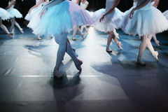 Ballet choreography Royalty Free Stock Images