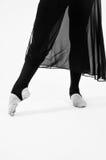 Ballet clásico de los pies del baile Imagen de archivo