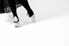 Ballet clásico de los pies del baile Foto de archivo libre de regalías