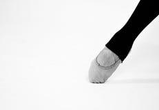 Ballet clásico del pie del baile Imagen de archivo