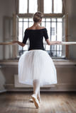 In ballet class-room Royalty Free Stock Images