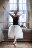 In ballet class-room Royalty Free Stock Photo