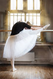 In ballet class-room Royalty Free Stock Photos