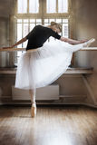 In ballet class-room Royalty Free Stock Photography