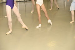 Ballet class Stock Image