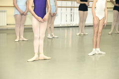 Ballet class Royalty Free Stock Photo
