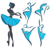 Ballet collection Royalty Free Stock Photography