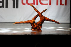 Ballet and contemporary dance competition Stock Photos