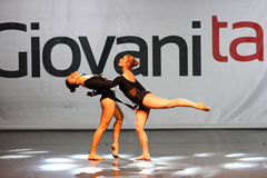 Ballet and contemporary dance competition Stock Photo