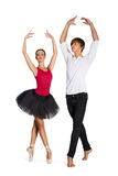 Ballet couple Royalty Free Stock Images