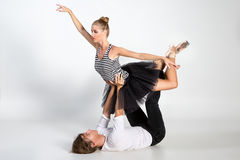 Ballet couple Stock Images