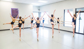 Ballet Dance Class Royalty Free Stock Images