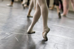 Ballet dance practice Stock Photo