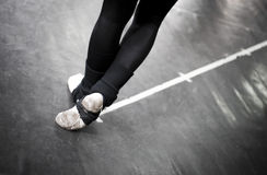 Ballet dance practice Royalty Free Stock Photo