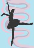 Ballet dancer. A  illustration of a ballet dancer Stock Image