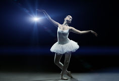 Ballet dancer-action Royalty Free Stock Images