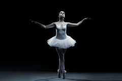 Ballet dancer-action Royalty Free Stock Photos