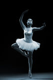 Ballet dancer-action stock image