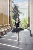 Ballet dancer. Beautiful Ballet dancer (ballerina) outdoors Stock Image