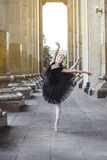 Ballet dancer. Beautiful Ballet dancer (ballerina) outdoors Royalty Free Stock Image