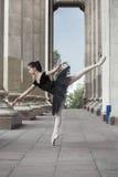 Ballet dancer. Beautiful Ballet dancer (ballerina) outdoors Royalty Free Stock Photography
