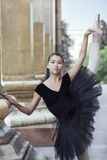 Ballet dancer. Beautiful Ballet dancer (ballerina) outdoors Stock Photography