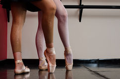 Ballet dancer royalty free stock photos