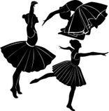 Ballet dancer girl Royalty Free Stock Images