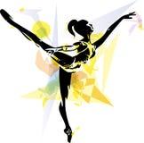 Ballet Dancer illustration Royalty Free Stock Photo