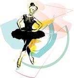 Ballet Dancer illustration Stock Images