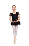 Ballet dancer kid Stock Images