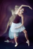 Ballet dancer motion Stock Photo