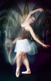 Ballet dancer in motion Royalty Free Stock Photo