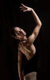 Ballet dancer posing Stock Images
