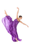 Ballet dancer split Stock Photography