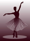 Ballet dancer royalty free illustration