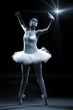 Ballet dancer and stage shows.  stock image