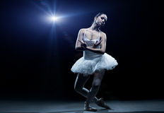 Ballet dancer and stage shows Royalty Free Stock Photo