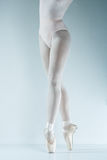 Ballet dancer. Train in the studio. Stock Photos