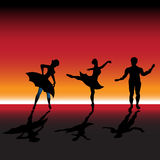 Ballet dancers Royalty Free Stock Images