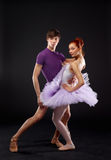 Ballet dancers Stock Photography