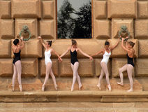Ballet dancers in the Alhambra Stock Photos