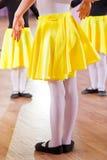Ballet dancers, legs Royalty Free Stock Photo