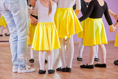 Ballet dancers, legs Royalty Free Stock Image